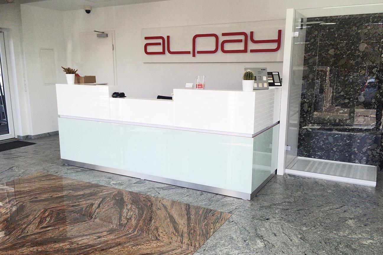 alpay naturstein ihr spezialist f r k chen und arbeitsplatten wir ber uns. Black Bedroom Furniture Sets. Home Design Ideas
